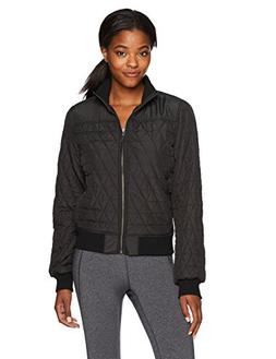 prAna Women's Diva Bomber Jacket, Black, Small