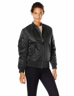 Alpha Industries Women's Ma-1 Flight Nylon Reversible Bomber