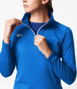The North Face Women's Tech Glacier 1/4 Zip Bomber Blue X-La
