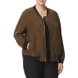 Bagatelle Womens Fall Lightweight Coat Bomber Jacket Outerwe