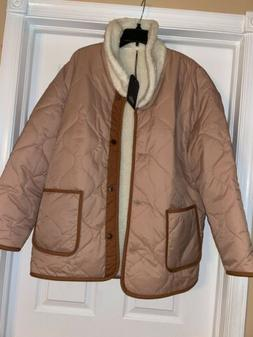 Women's Levi's Faux Quilted Bomber Jacket Size 4 - XL -