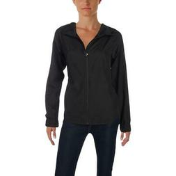 The North Face Womens Reactor Black Fall Bomber Jacket Outer