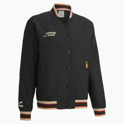 Puma x Randomevent Bomber Jacket Black/Floral/Orange 596661-