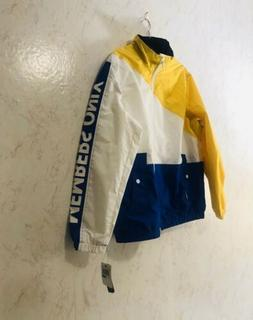 MEMBERS ONLY yellow bomber jacket